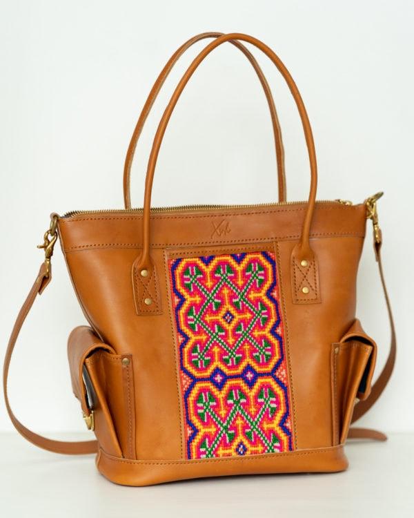 Xinh Handbag: Handmade Leather Tote